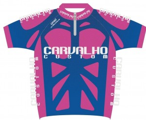 carvalho custom cycling jersey