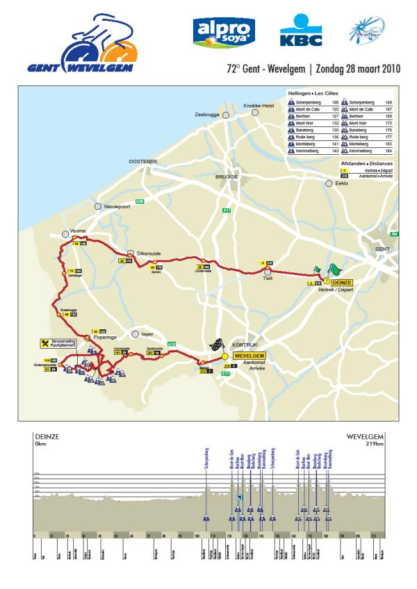gent_wevelgem profile and map