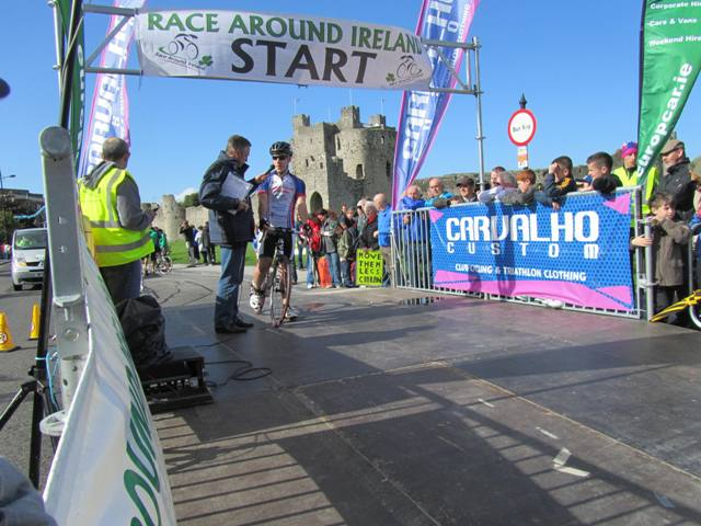 race around ireland start